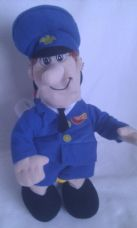 Adorable My 1st Reversible 2-in-1 Postman Pat & Jess Cat Plush Toy